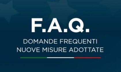 DPCM 3 novembre 2020 - Le risposte del Governo alle FAQ