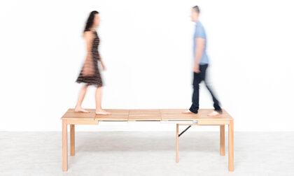 Come cambia il tuo living con i tavoli estensibili in legno LG Lesmo